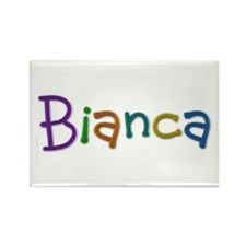 Bianca Play Clay Rectangle Magnet