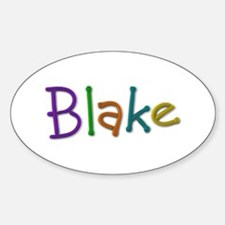Blake Play Clay Oval Decal
