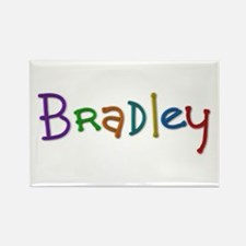 Bradley Play Clay Rectangle Magnet