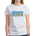 Love & Peace hands Women's T-Shirt