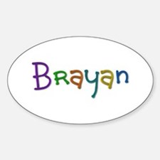 Brayan Play Clay Oval Decal