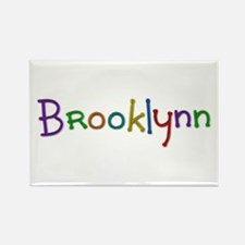 Brooklynn Play Clay Rectangle Magnet