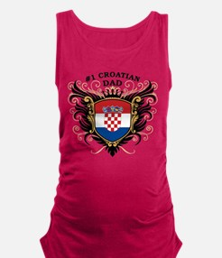 n1_croatian_dad.png Maternity Tank Top