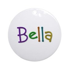 Bella Play Clay Round Ornament