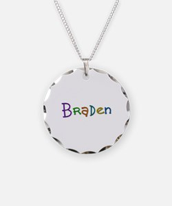 Braden Play Clay Necklace Circle Charm
