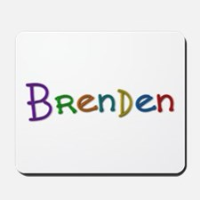 Brenden Play Clay Mousepad