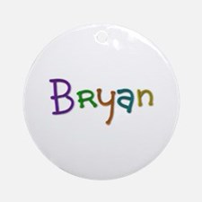 Bryan Play Clay Round Ornament