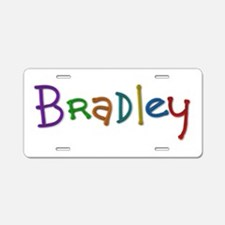 Bradley Play Clay Aluminum License Plate