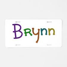 Brynn Play Clay Aluminum License Plate