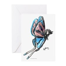 Butterfly Fairy Greeting Cards (Pk of 10)