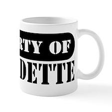 Property of Bernadette Coffee Mug