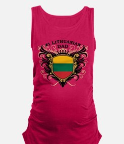 n1_lithuanian_dad.png Maternity Tank Top
