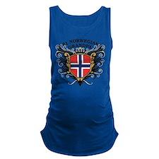 n1_norwegian_grandpa.png Maternity Tank Top
