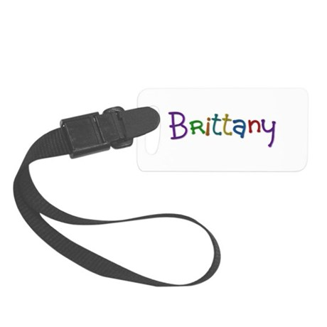 Brittany Play Clay Small Luggage Tag