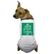 Keep Calm and Cheer Up Dog T-Shirt