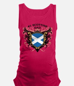 n1_scottish_dad.png Maternity Tank Top