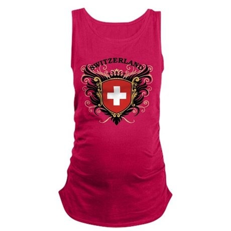 switzerland.png Maternity Tank Top