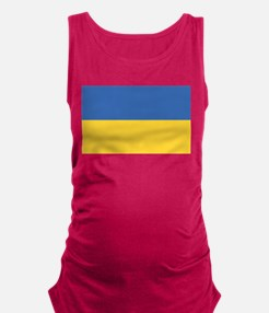flag_ukraine.png Maternity Tank Top