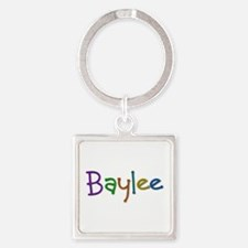 Baylee Play Clay Square Keychain