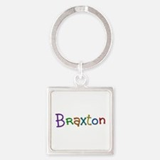 Braxton Play Clay Square Keychain