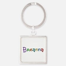 Breanna Play Clay Square Keychain