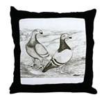 English Show Homers Throw Pillow