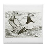 English Show Homers Tile Coaster