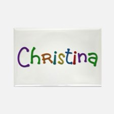Christina Play Clay Rectangle Magnet