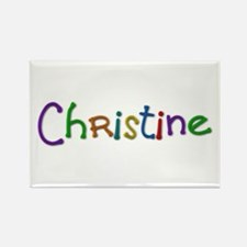 Christine Play Clay Rectangle Magnet