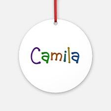 Camila Play Clay Round Ornament