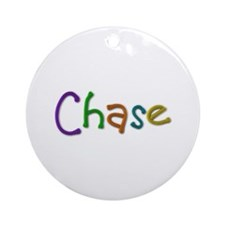 Chase Play Clay Round Ornament