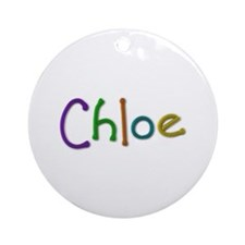 Chloe Play Clay Round Ornament