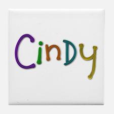 Cindy Play Clay Tile Coaster