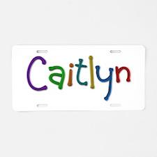 Caitlyn Play Clay Aluminum License Plate
