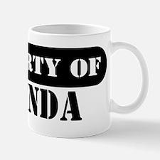 Property of Belinda Mug