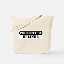 Property of Belinda Tote Bag