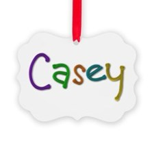 Casey Play Clay Ornament