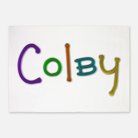 Colby Play Clay 5'x7' Area Rug