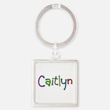 Caitlyn Play Clay Square Keychain