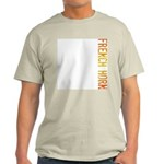 French Horn Stamp Ash Grey T-Shirt