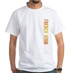 French Horn Stamp White T-Shirt