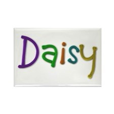 Daisy Play Clay Rectangle Magnet