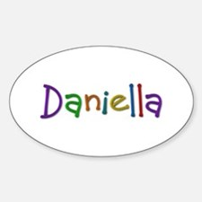 Daniella Play Clay Oval Decal