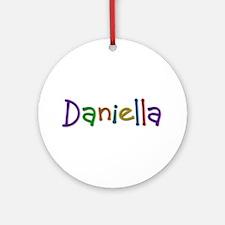 Daniella Play Clay Round Ornament
