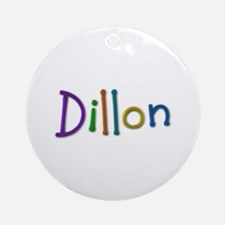 Dillon Play Clay Round Ornament