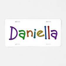 Daniella Play Clay Aluminum License Plate