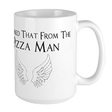 Castiel Pizza Man Mug