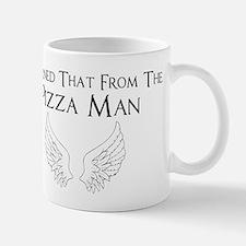 Castiel Pizza Man Mug