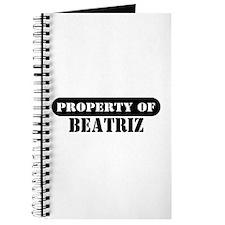 Property of Beatriz Journal