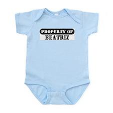 Property of Beatriz Infant Bodysuit
